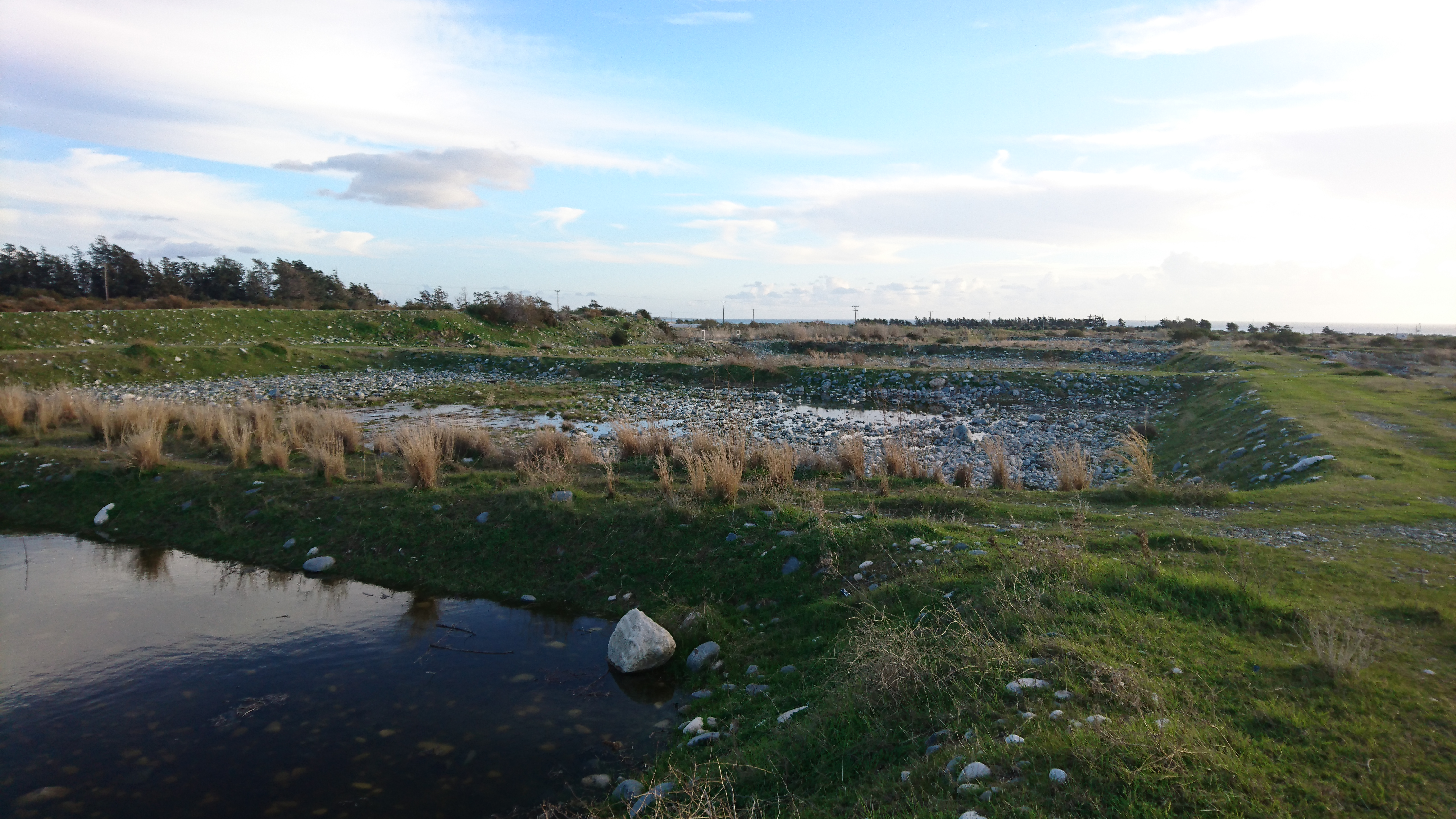 ww infiltration ponds in Cyprus